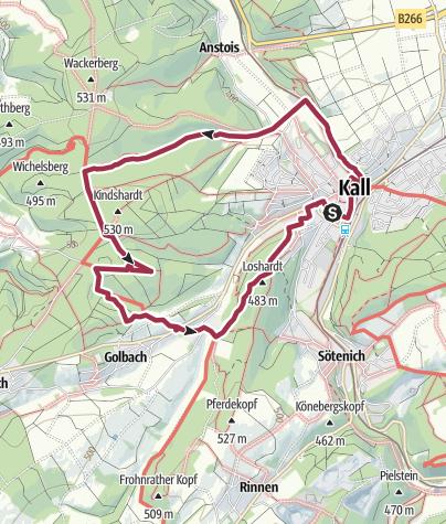 Karte / Pingenwanderweg