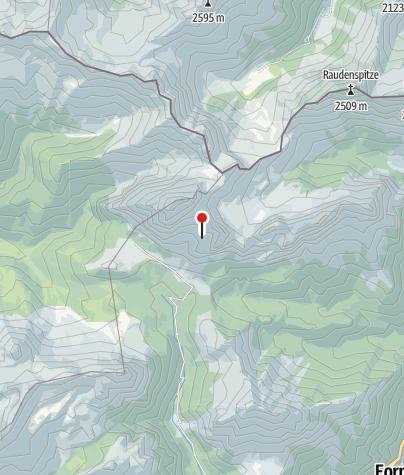 Map / Rif. R. F. Calvi