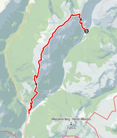 Karte / Sarner Mittelkamm