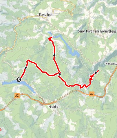 Karte / 3-Stau-Se(h)en-Erlebnis