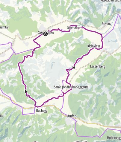 Steiermark Karte Flüsse.2 Flüsse Tour Variante 2 Radtour Outdooractive Com