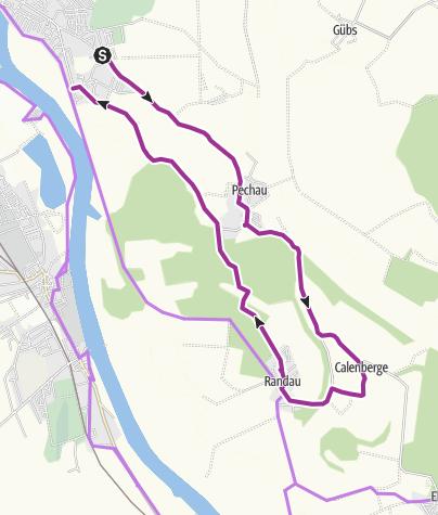 Karte / Das südöstliche Magdeburg