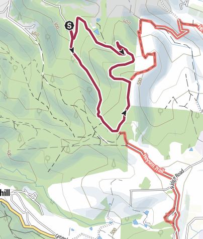 Map / Horsnell Gully Hike