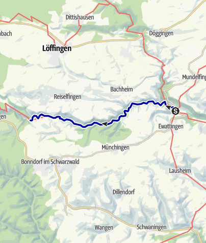 Map / Discover the Wutach Gorge