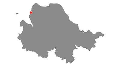 Karte / Weser-Radweg, 15.Etappe: Von Dorum-Neufeld bis Cuxhaven