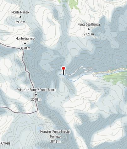 Karte / Rifugio Albergo Alpino Pian del Re