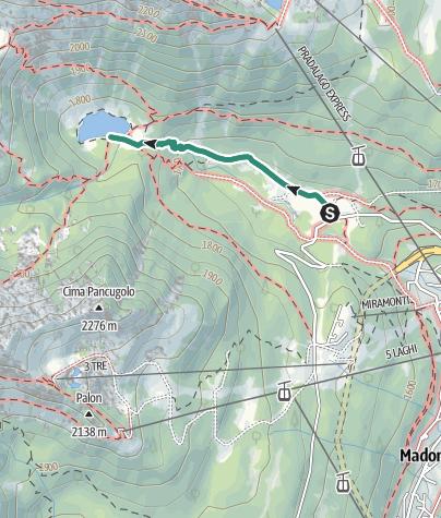 Map / Trekking al Lago di Nambino