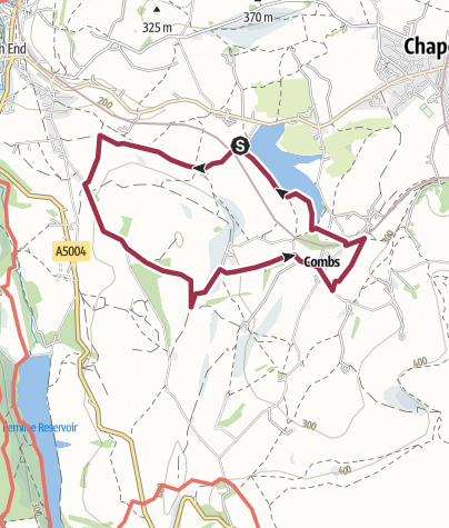 Map / Coombs Reservoir and Ladder Hill