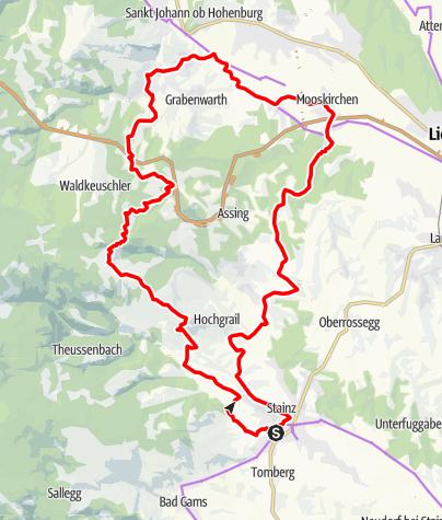 Karte / Schilcher Tour Nord