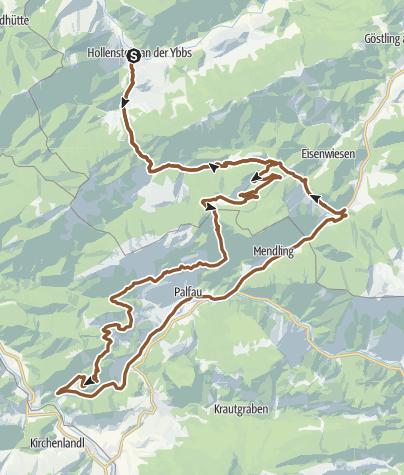 Map / Erzweg - Gamssteintour