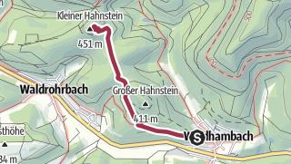 Map / Kleiner Hahnstein