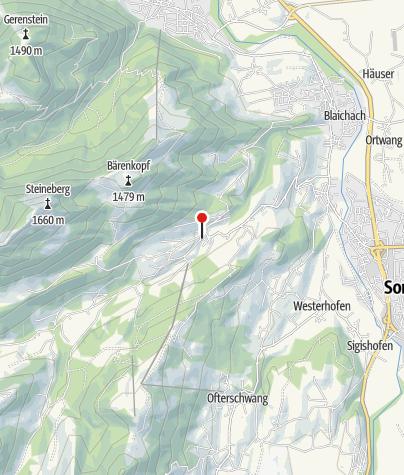 Karte / Berggasthof Goldenes Kreuz