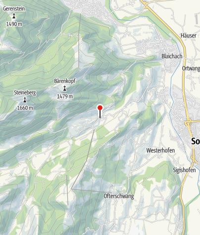Karte / Landhaus Waibel