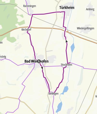 Karte / Rund um Bad Wörishofen