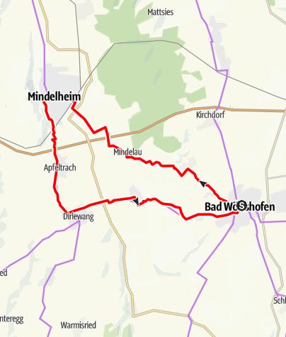 Karte / Bad Wörishofen - Mindelheim