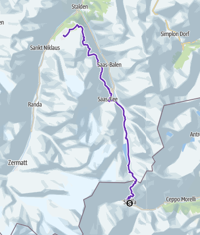 Map / UTMR 2019 - Stage 4