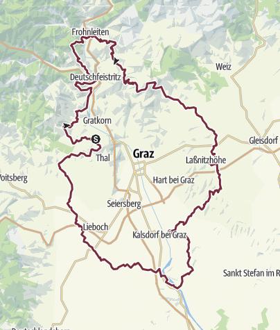 Karte / Grazer Umland Weg