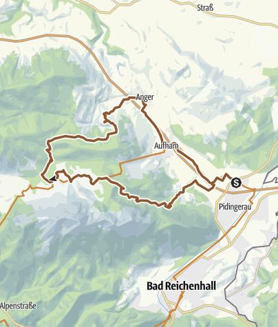 Karte / MTB: 21 - Steineralm-Runde