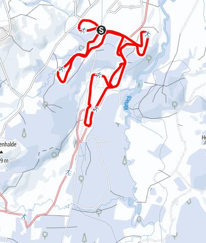 Karte / Zum Kemptener Wald (U 1)