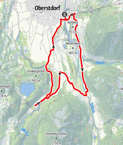 Karte / WM-Walk