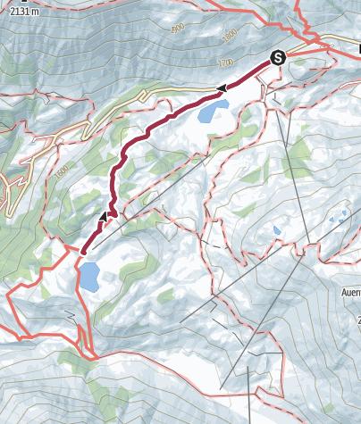 Karte / Schröcken   Von See zu See. Zum schönsten Platz Österreichs