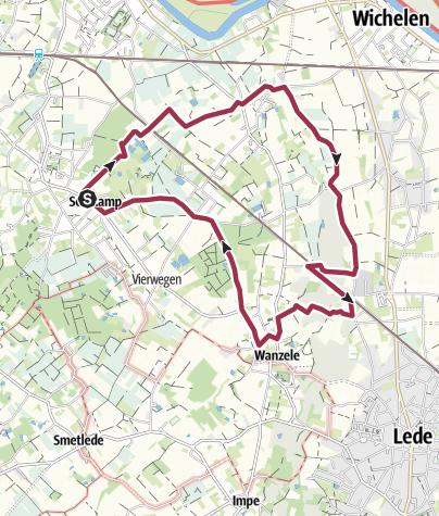Mapa / Serskamp Langs Molenbeek
