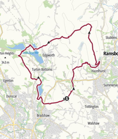 Map / Affetside Circular