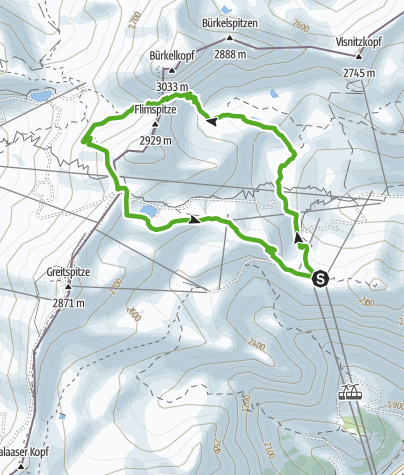 """Map / 661 Rundwanderung """"Bei den Seen"""""""