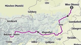 Mapa / Wien-Meran 2019