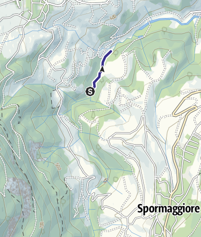 Map / Torrente Sporeggio E1