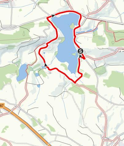 Karte / Schwaltenweiher-Runde