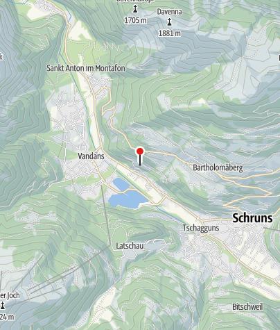 Karte / Aktivum Montafon