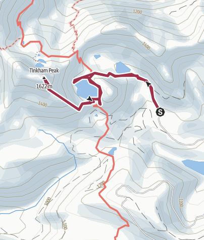Map / Mirror Lake & Tinkham Pk Aug 2, 2017 10:10:30 AM