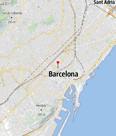 Map / Casa Calvet