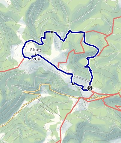 Map / Feldbergsteig (Feldberg Climb)