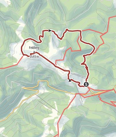 Karte / Genießerpfad - Feldbergsteig