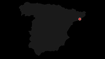 Mapa / Tras los pasos de Antoni Gaudí: Un recorrido por Barcelona