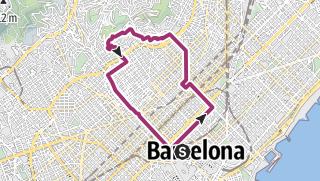 Cartina / Giro per Barcellona sulle orme di Gaudí
