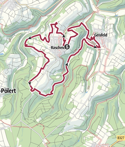 Karte / Traumschleife Königsfeldschleife