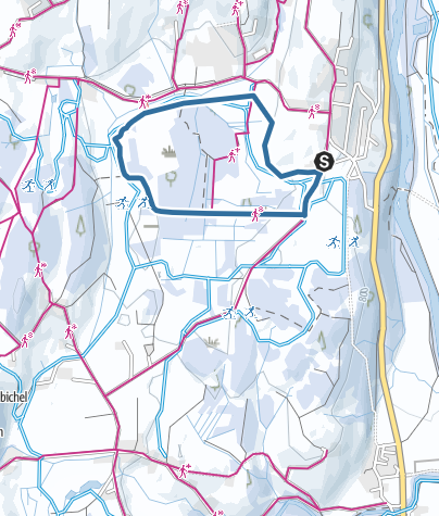 Map / Moosrunde - Snow shoeing near Ofterschwang