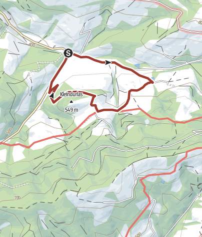 Karte / Michelbacher Most- und Köhlereiweg