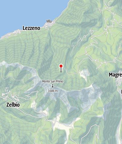 Karte / Rifugio Martina