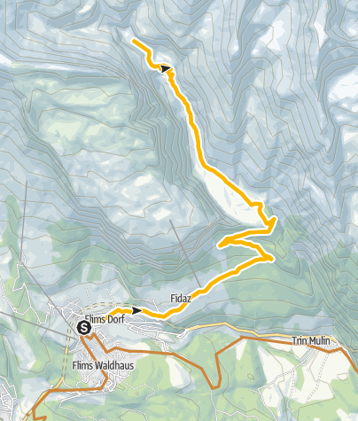 Map / 250 Hochtal Bargis