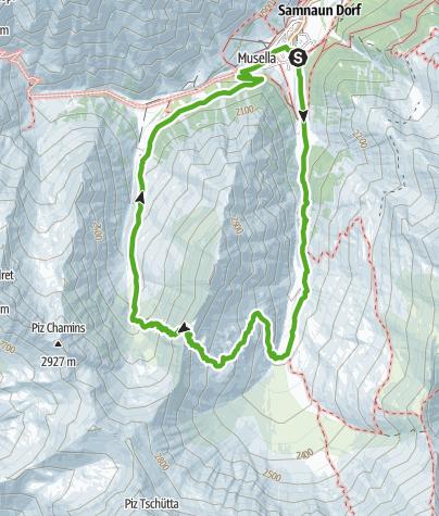 "Map / 662 Rundwanderung ""Stammerjoch"""
