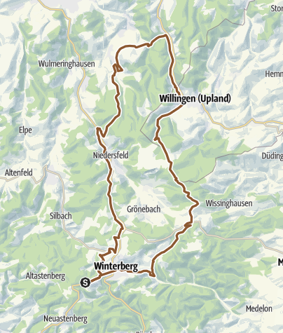 Sauerland Karte.Bike Arena Sauerland Zu Den Steinen Nr 2 Mountainbike