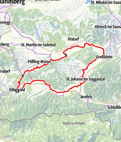 Karte / 2-Flüsse Tour