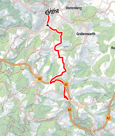 Karte / Herlwirtweg