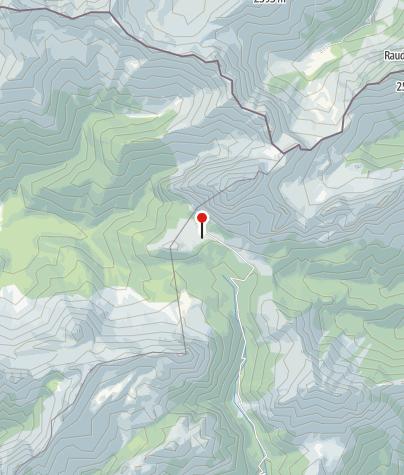 Map / Rif. Sorgenti del Piave