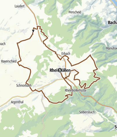 Karte / Rheinböller Gipfel im Dreierpack