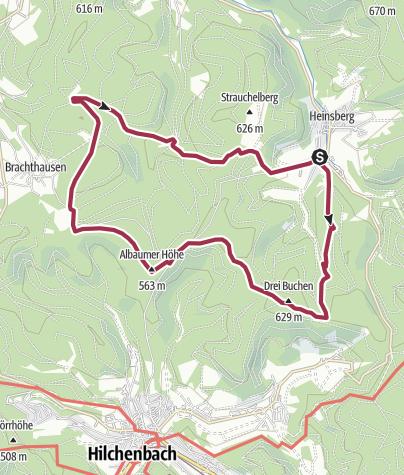 Karte / Heinsberg: Auf Grenz- und Pilgerwegen